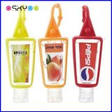 Suporte do gel do Sanitizer da mão do frasco de Bbw Pocketbac 30ml do silicone