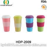 2016 tazze di caffè di bambù organiche variopinte promozionali della fibra (HDP-2009)
