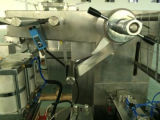 Máquina automática de plástico de aluminio del paquete de ampolla de sellado