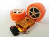 Motorrad MP3-Warnungssystem mit Druckknopf