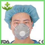WegwerfN95 Ffp1 aktive Kohlenstoff-Kegel-Schablone ohne Ventil
