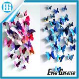 De blauwe 3D Sticker van de Muur van de Decoratie van de Kunst van het Decor van de Vlinder