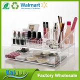Organizador cosmético de la gama de colores del almacenaje y del maquillaje de la calidad superior con 1 cajón