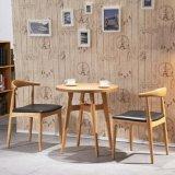 단단한 나무를 가진 의자를 식사하는 가정 가구 북유럽 작풍