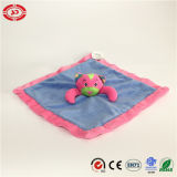 Blau und Pink Lovely Face Cat Baby Care Soft Blanket