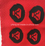 El caucho etiqueta la etiqueta engomada gruesa del traspaso térmico para la ropa
