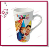 Sublimation 17oz bedruckbarer weißer Latte Becher