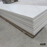 6mm White Artificial Stone Acrylic Sheet Solid Surface