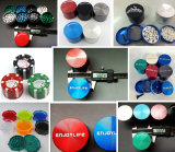 Nuovo Arrival Zinc Grinder, Best Selling Herb Grinders, Weed Grinders per E-Cigarettes