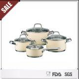 Nouvel ensemble de Cookware de Castamel d'acier inoxydable d'article