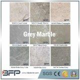 磨かれた表面との床張りのための灰色の自然な石造りのタイルそして大理石