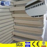건축재료 폴리우레탄 샌드위치 위원회 금속 PU PIR 샌드위치 지붕 벽면