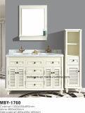 Bois plein de salle de bains de 60 pouces de Cabinet classique de vanité
