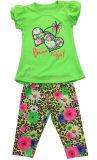 子供の摩耗SGS-104のための夏の子供の女の子のスーツの子供の衣服