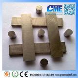Moldeada personalizada Imán sinterizado de la aleación de acero