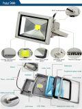洪水ライト屋外の照明防水IP67 IP68ランプAC85-265Vのフラッドライト