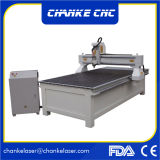 Máquina de madera del ranurador del corte del CNC para la madera del cobre del metal de Alumnium