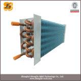 Evaporador aire acondicionado de aluminio de la aleta del tubo de cobre 2016