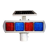 Предупредительный световой сигнал безопасности дороги проблескивая СИД солнечный