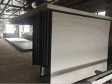 Écran électrique en format large de qualité 72 pouces - écran à haute définition de projecteur de théâtre à la maison