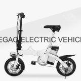 LED 램프를 가진 가장 새로운 혁신적인 12 인치 휴대용 접힌 전기 자전거