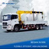 6 tonnes grue de levage de camion de bras de 8 tonnes pour l'Inde