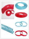 Résine de polyester de température élevée avec des bandes d'usure de tissu