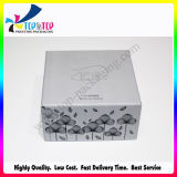 Silver Card Paper Gift Box for Cosmetics