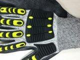 Luva resistente do trabalho de Mechanix das luvas do anti corte da luva do impato de TPR