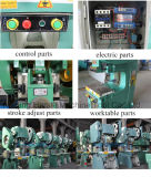 Macchina meccanica della pressa di serie di marca J23 di Harsle