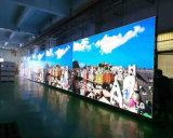 높은 정의 P3.91 풀 컬러 발광 다이오드 표시 스크린 3 년 보장
