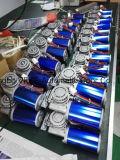 円形モーターを搭載する電気引き戸オペレータ