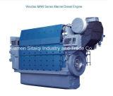 Motor diesel marina de la serie del hombre de Weichai con potencia grande