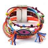 Böhmen-buntes schlechtes Augen-handgemachtes multi Armband