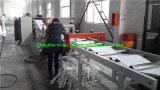 Machine de refoulement de bande de bord de PVC