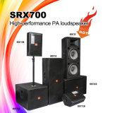 Дикторы профессионала звуковой системы PA полного диапасона хода серии Srx700 длинние