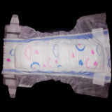 Cotton morbido Surface Diaper con Encircling Design (l)