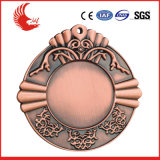 Het Medaillon van de Legering van het Zink van het metaal/Fabriek van de Medaille van het Metaal van de Douane 3D