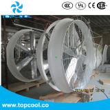 """72 """" sistema refrigerando do ventilador industrial das aves domésticas do ventilador FRP"""