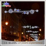 Lumière extérieure de décoration du motif DEL Chirstmas de rue de Morden de constructeurs