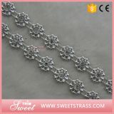 Het plastic Zilveren Lint van de Bloem met de Duidelijke Reeks van het Bergkristal