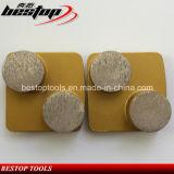 Redi 자물쇠 금속 유대 구체적인 닦는 패드 150# 원형 세그먼트