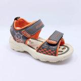 Лето 2016 ботинок сандалий детей сандалий мальчиков сандалий малышей способа высокого качества вскользь обувает резину Llight PU ботинок впрыски