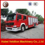 Пожарная машина тавра HOWO с цистерной с водой 8m3