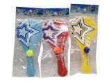 Jouet promotionnel de mini jeu en plastique de Paddleball