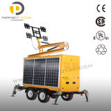 800W diodo emissor de luz Solar Lighting Tower