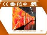 Mur visuel d'intérieur de haute résolution P4 DEL de la location DEL annonçant le panneau d'affichage