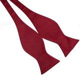 Do poliéster liso do projeto do Calabash da forma laços de seda