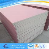 4 ' Drywall를 위한 x8 Fireproof Gypsum Board Fire Resistance Plasterboard