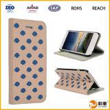 Caja de cuero del teléfono móvil para la caja del teléfono celular del iPhone 6 para el iPhone 6s